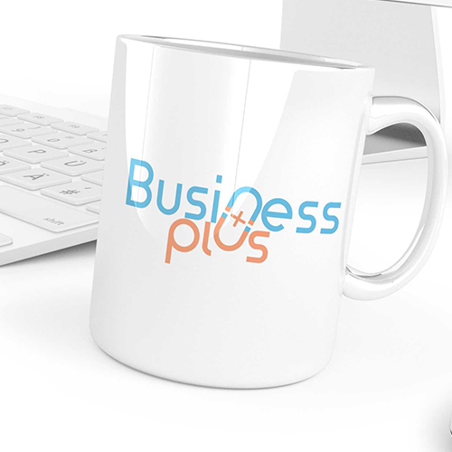 Business Plus logo design