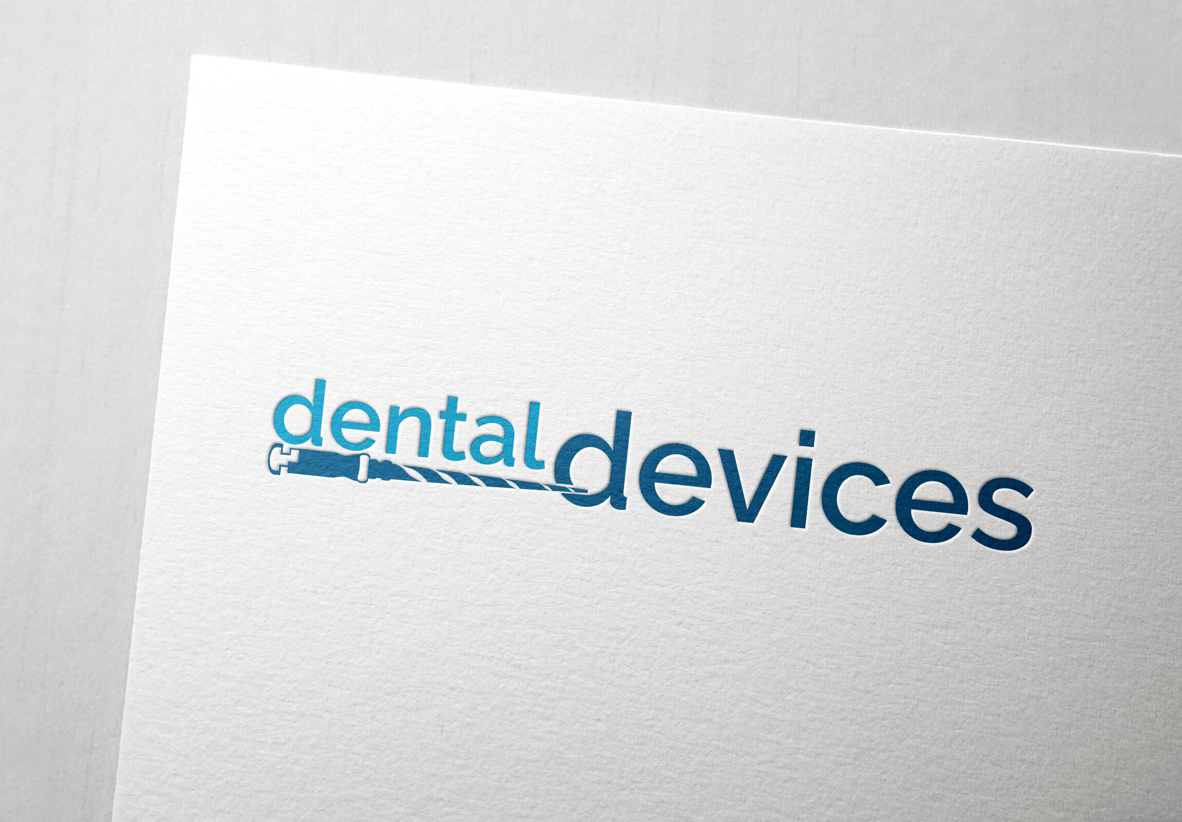 Premium vector logo design for Dental Devices