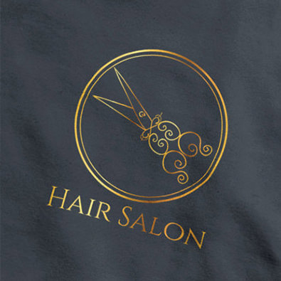 Logo concept for hair stylist