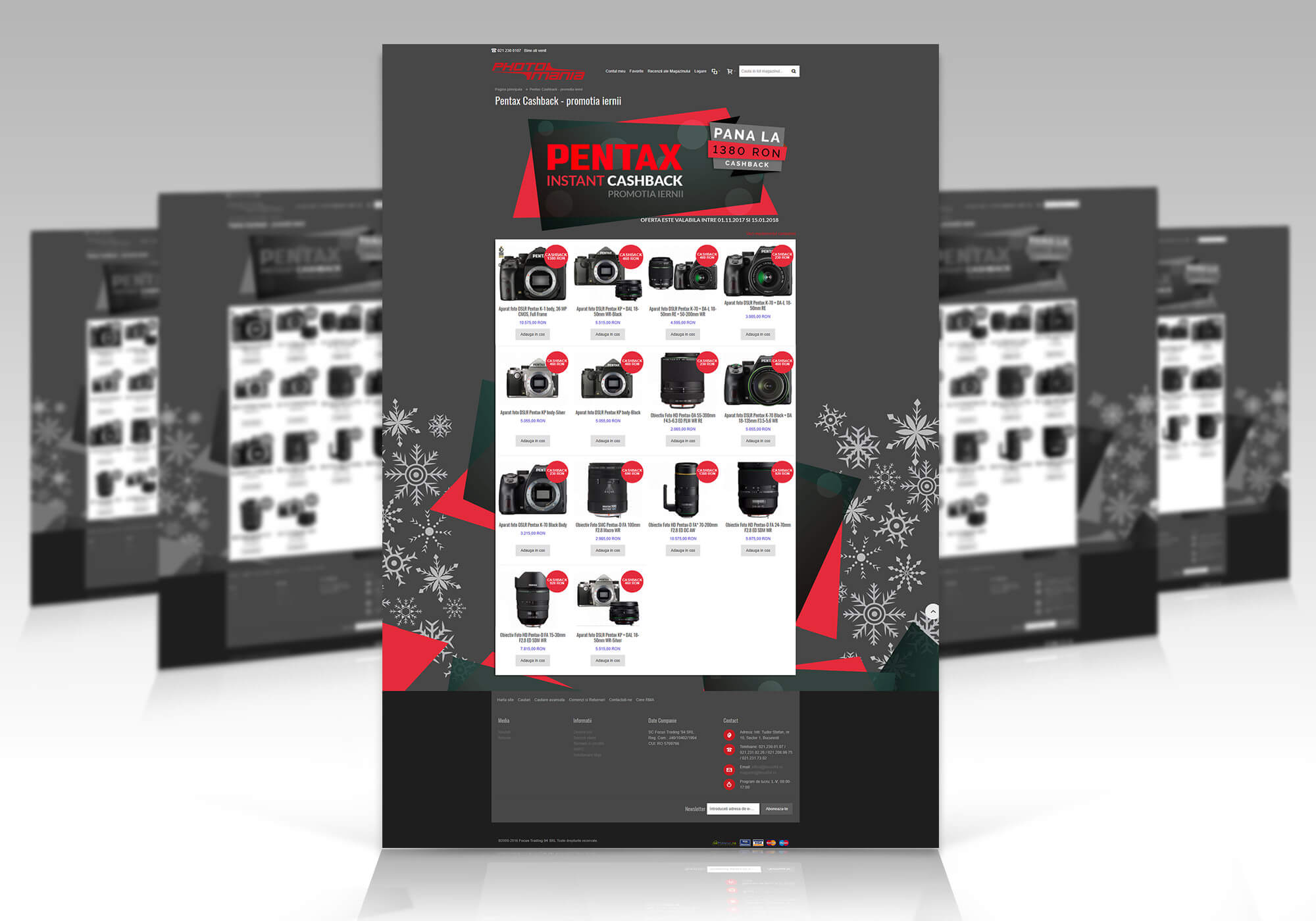 landing page magento web design sinners projects cashback ecommerce