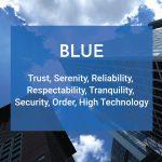 blue color logo