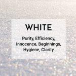 white logo color