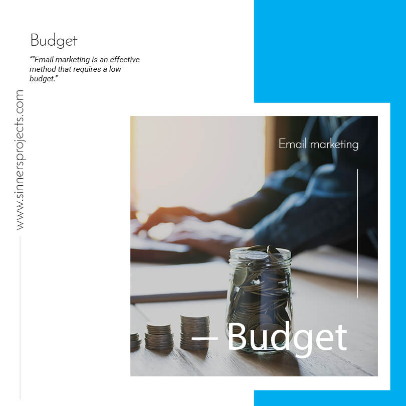 Email marketing budget newsletter campaign